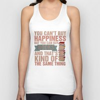 books Tank Tops featuring Books by thespngames