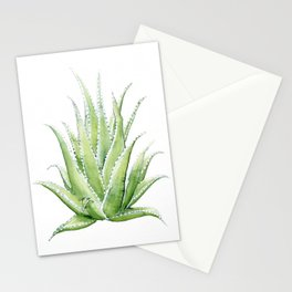 Aloe Vera - Desaturated Stationery Cards