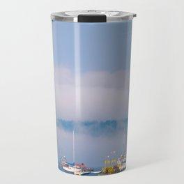 A Blue Summer Day Travel Mug