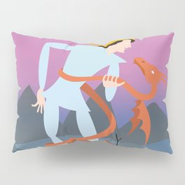 Dragonboy in the Wasteland Pillow Sham