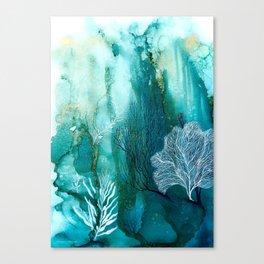 Coral Reef 4. Canvas Print