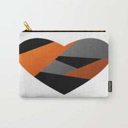 Metal Heart Carry-All Pouch