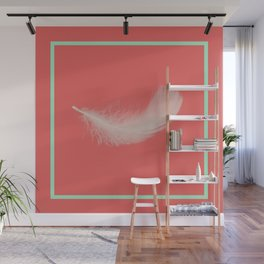 Coral Feather  Wall Mural