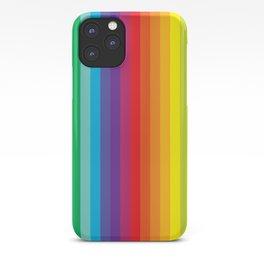 Rainbow Stripes iPhone Case