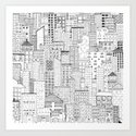 City Doodle (day) by beththompson