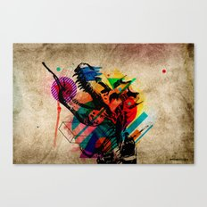 Eat or be eaten Canvas Print