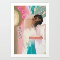 Little Love Boat Art Print