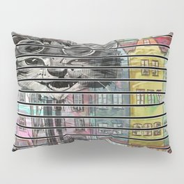 Alice Through The Cat House Pillow Sham