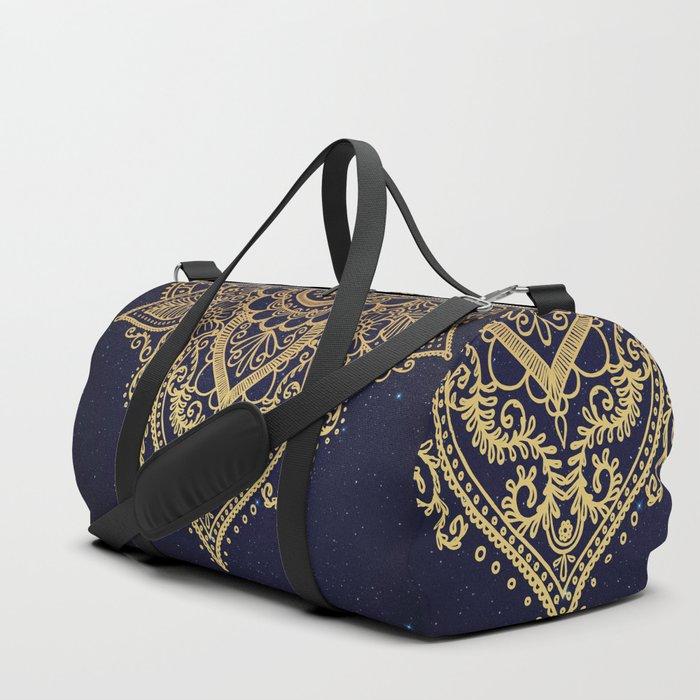 MANDALA IN STARRY NIGHT Duffle Bag