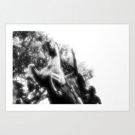 Boadicea rides Art Print