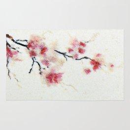 Sakura branch Rug