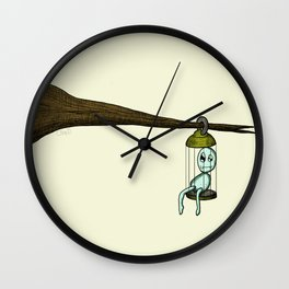 Hang Around Wall Clock