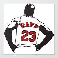 riff raff Canvas Prints featuring Michael Raff by The Raff