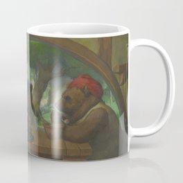 The Three Bears Eating Porridge Coffee Mug