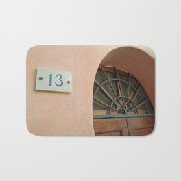 13 - Wrought Iron Door Bath Mat