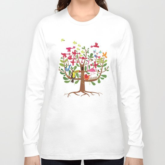 summer tree Long Sleeve T-shirt