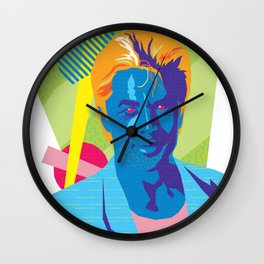 SONNY :: Memphis Design :: Miami Vice Series Wall Clock