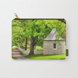 Spring Buttery Carry-All Pouch