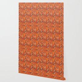 Bird Camouflage at Sunset Wallpaper