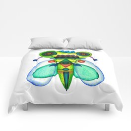 Dragonfly Moth Comforters