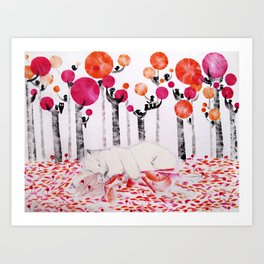 Autumnal Dreaming Art Print