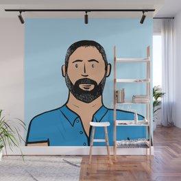 Beard Boy: Jose Wall Mural