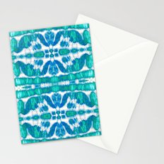 Tie-Dye Twos Aqua Stationery Cards
