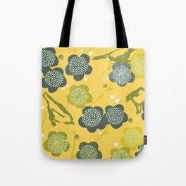 Birds & Blooms M+M Yolk by Friztin Tote Bag
