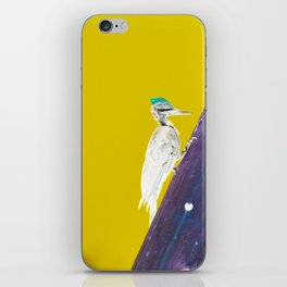 Woodpecker iPhone Skin