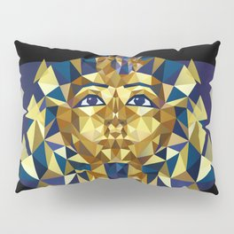 Golden Tutankhamun - Pharaoh's Mask Pillow Sham