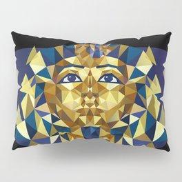 Golden Tutankhamun - Pharaoh's Mask Pillow Sham