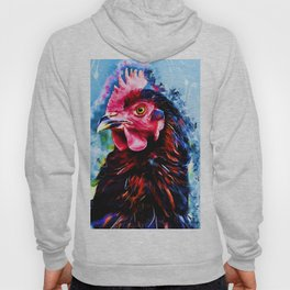 rooster art 2 #rooster #animals Hoody