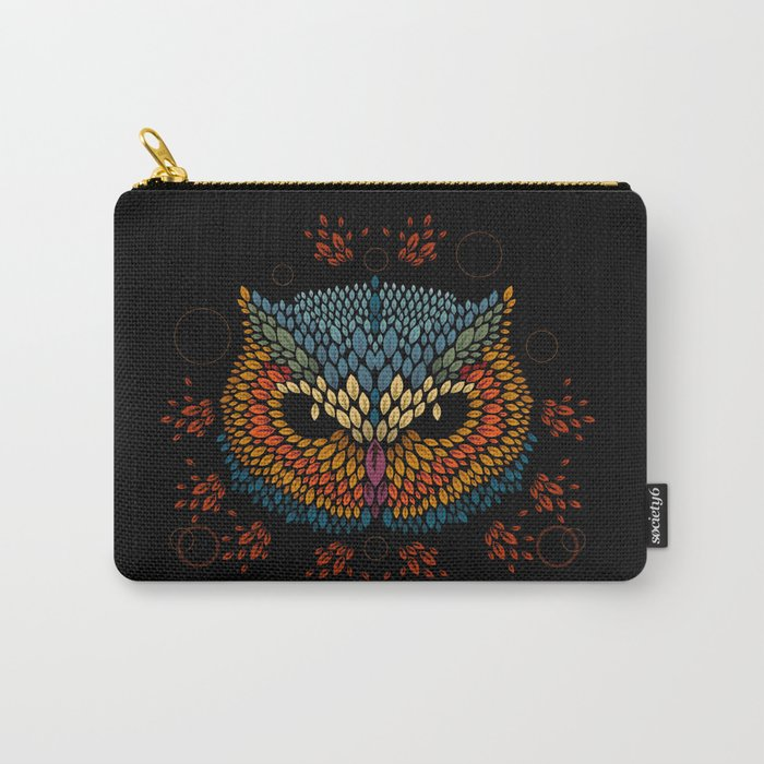 Owl Face Carry-All Pouch