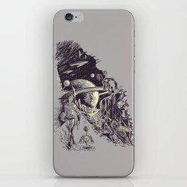 Stranded on Alpha Centauri iPhone Skin