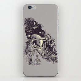 Stranded on Alpha Centauri iPhone Skin