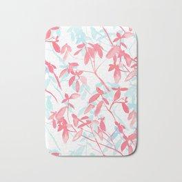 Premonition (Coral Mint) Bath Mat