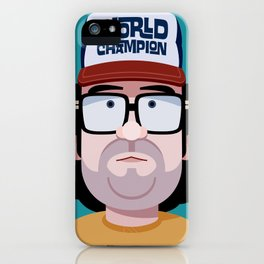 Comics of Comedy: Judah Friedlander iPhone Case