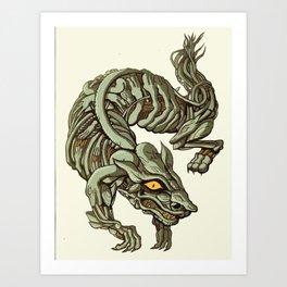 weasel away Art Print