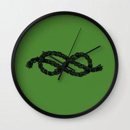 Common Rope Logo Wall Clock