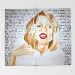 Swift Love Throw Blanket
