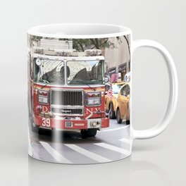 The Fire Dept of New York at 30 Rock Coffee Mug