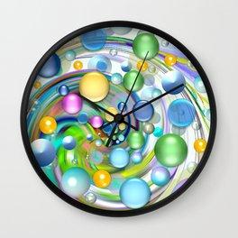 Color-Balls Wall Clock