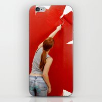redhead iPhone & iPod Skins featuring Redhead by Twilight Productions
