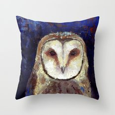 Nocturnal Creature Throw Pillow
