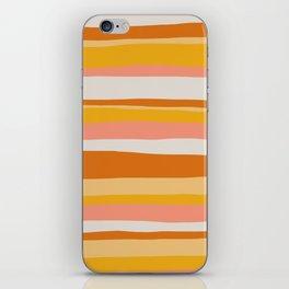 sedona, desert stripes iPhone Skin