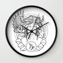 Zodiac Series | Capricorn Wall Clock