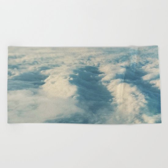 Cloud Sea Beach Towel