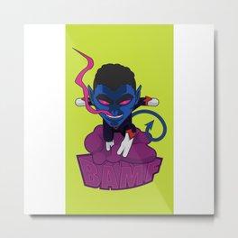 Ze Incredible Nightcrawler Metal Print