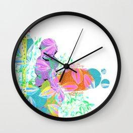 Cupid at rest Wall Clock