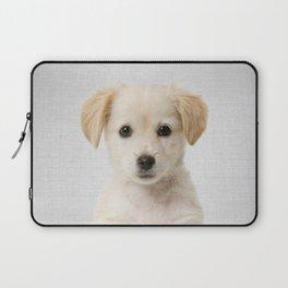 Golden Retriever Puppy - Colorful Laptop Sleeve